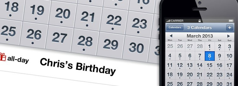 How to Add Birthdays to Calendar on iPhone - Leverage